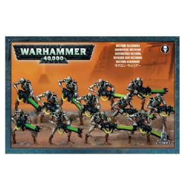 Games Workshop Warhammer 40000 40K Necron Warriors 49-06